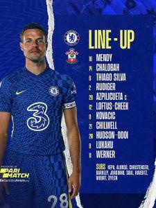 Your Chelsea today! 🤝 @Parimatch #CHESOU #CFC #Chelsea