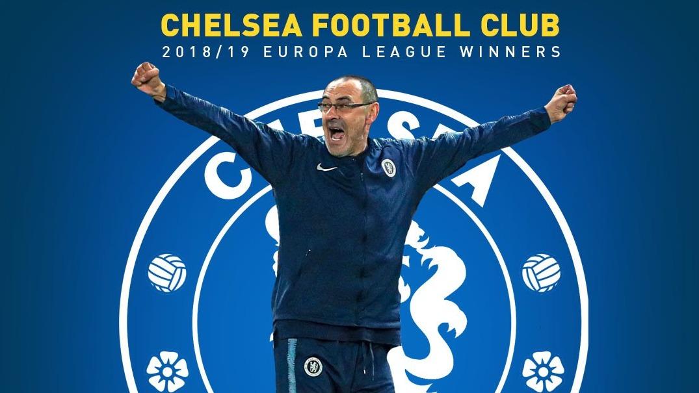 切尔西主帅萨里收获执教生涯第一冠