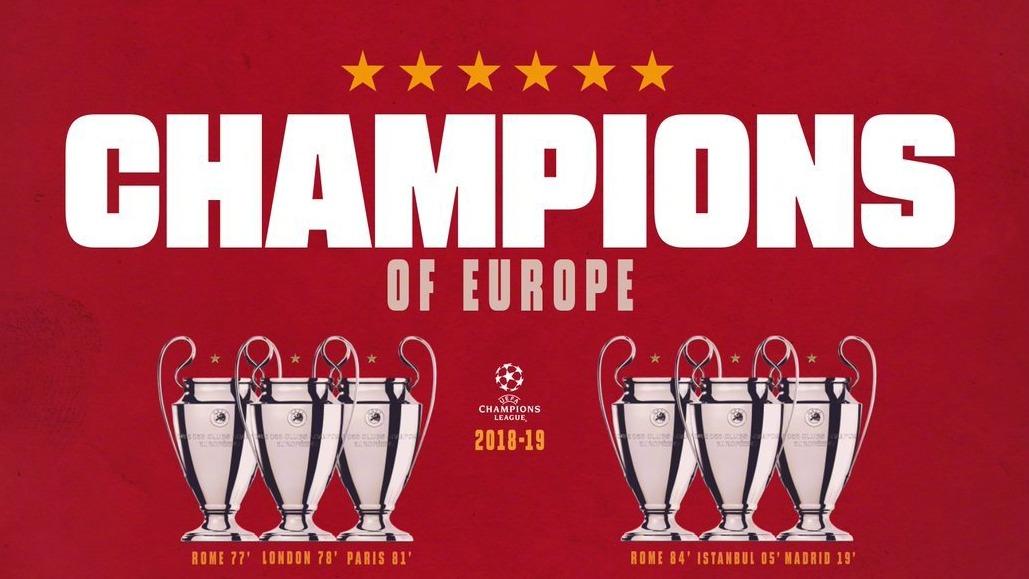 里程碑!利物浦第六次问鼎欧冠,夺欧冠次数仅次皇马米兰