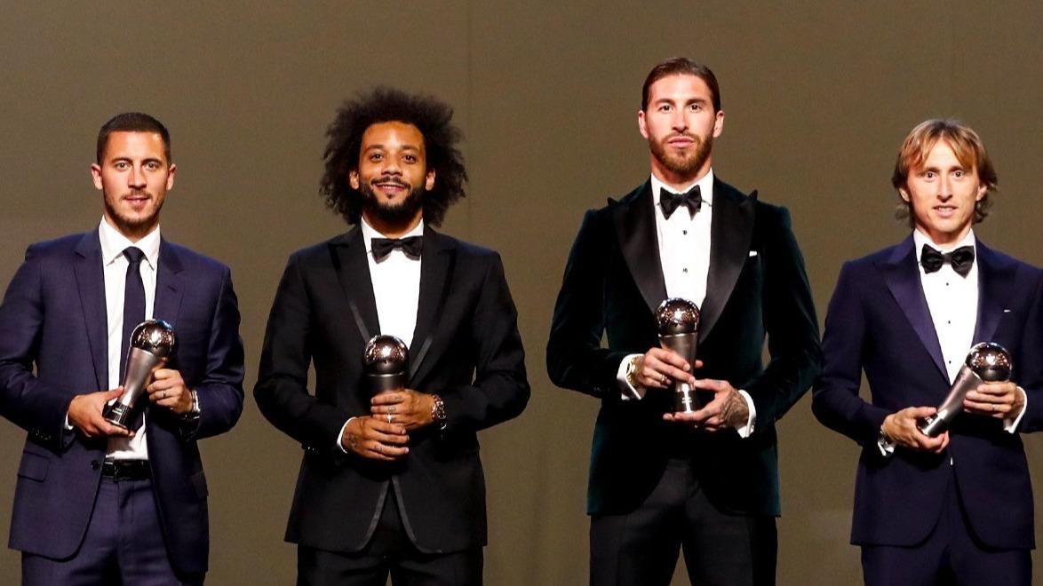 统治力!皇马连续15年有球员入选FIFA年度最佳阵容