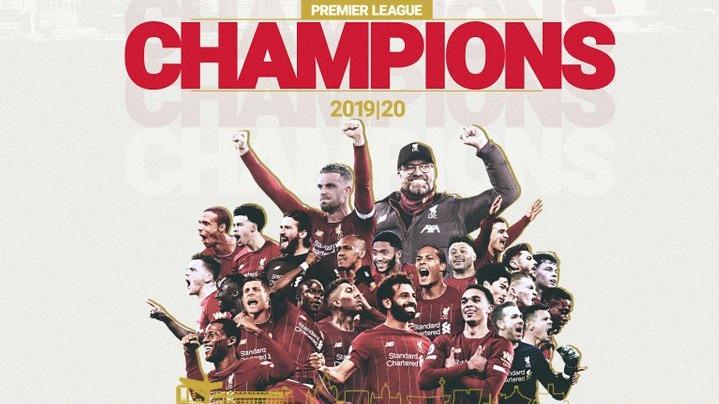 见证历史!利物浦提前7轮夺得队史首座英超冠军
