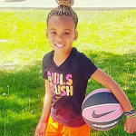 6岁篮球萝莉身手了得