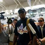 罗德曼抵京将再赴朝鲜