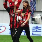 美腿女神助阵韩国联赛